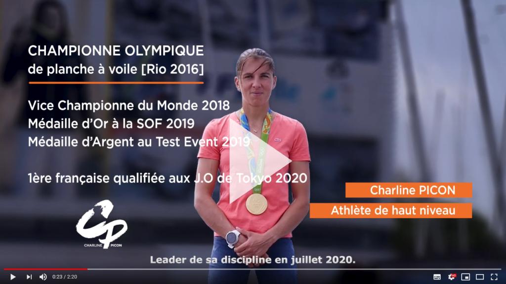 Sextant Expertise soutient Charline Picon, championne olympique en titre de planche à voile, première Française sélectionnée pour les JO de Tokyo en 2020. #GoToTokyo2020
